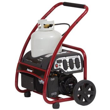 Powermate PM0133250 Propane Generator with Manual Start, 3250-watt