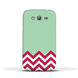 FUNKYLICIOUS Galaxy Grand Back Cover Zigzag Design (Multicolour)
