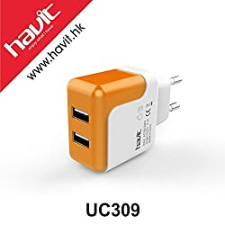 Havit HV-UC309 Dual USB Quick Charge USB Travel Adapter Wall Charger