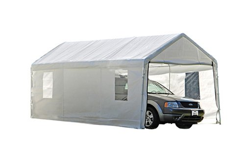 Basically it is very similar to this  sc 1 st  SufficientSelf.com & Backyard Canopy / Shade / Cover / Pergola: Build or Buy ...