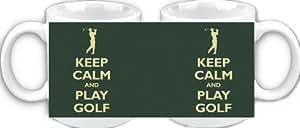 Keep Calm and Play Golf - Ceramic Mug