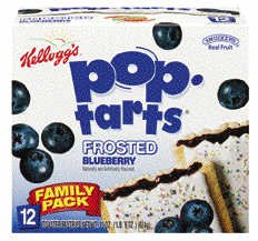Kellogg's Pop Tarts Frosted Blueberry 12C-12 Pack (038000310201)
