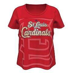 Saint Louis Cardinals St. Ladies Team Fanatic T-Shirt by Majestic