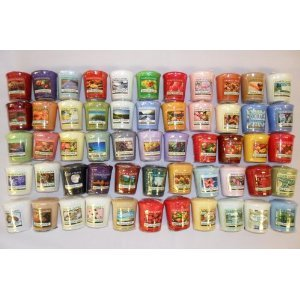 Yankee Candle - 5 x Mixed Fragrance Samplers / Votives from yankee candle/Bubblelush Divine Gifts