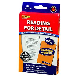 Edupress Reading For Detail - 3.5-5.0 - 1
