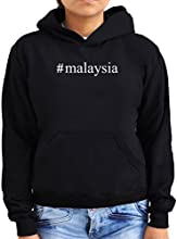 Malaysia Hashtag Women Hoodie