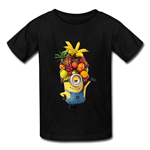 AOPO Minion Love Fruits T Shirts For Kids Unisex