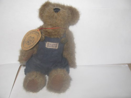 Boyds Bear The Archive Collection Teddy Bear in Overalls 7 Inches Tall