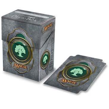 Ultra Pro - Magic the Gathering boîte pour cartes Deck Box Mana Vert