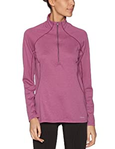 Patagonia - W'S Cap 3 MW Zip Nec - Sous-vêtement thermique femme - Rubellite Pink/Light Balsamic - Taille XS - S EU/ASIA