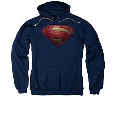 Superman: Hoodie - Man of Steel Mos Shield