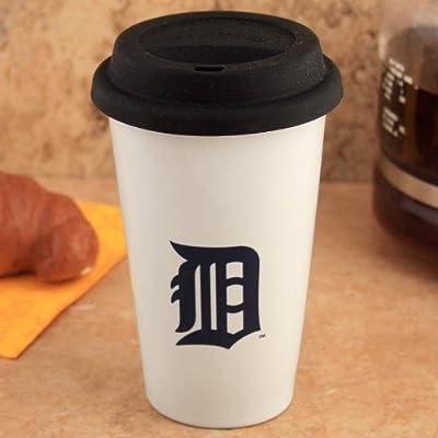 MLB Detroit Tigers Logo Travel Mug