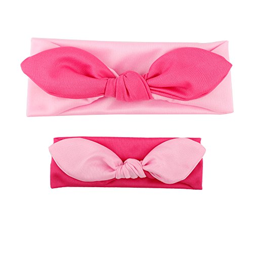 FEITONG(TM) 2015 Baby Toddler Cute Girls Kids Bow Hairband Turban Knot Rabbit Headband Headwear by FEITONG