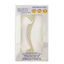 Satin Smooth Non-Woven Cloth Contour Strips For Face - 100 Strips from Satin Smooth
