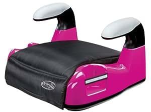 evenflo big kid amp no back booster car seat pink baby. Black Bedroom Furniture Sets. Home Design Ideas