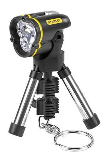 Stanley 95-113 Mini Tripod Keychain LED Flashlight 