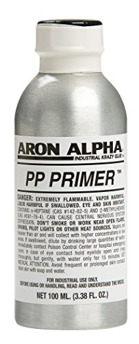 Aron Alpha PP Primer For Use With Instant Adhesives To Bond Polyolefine Plastics, 100ml (3.38 oz)