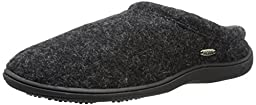 ACORN Men\'s Digby Gore Mule, Black Tweed, X-Large/12-13 M US