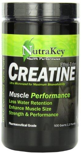 Nutrakey Creatine Ethyl Ester, 500 Grams