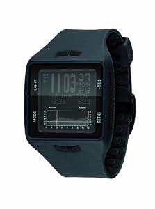 Vestal Unisex BRG017 Brig Tide & Train Charcoal Black Watch