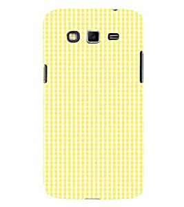 Yellow Pattern 3D Hard Polycarbonate Designer Back Case Cover for Samsung Galaxy Grand Neo Plus :: Samsung Galaxy Grand Neo Plus i9060i