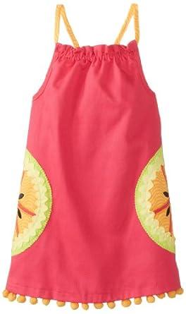 Mud Pie Little Girls' Tutti Frutti Dress, Pink, 4T