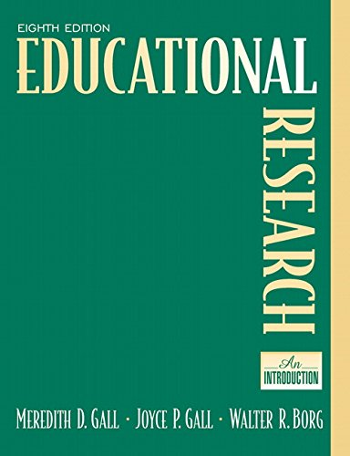 Educational Research: An Introduction (8th Edition) PDF