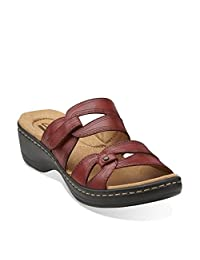 Clarks Womens Hayla Canyon Slide Casual Sandals 8.5
