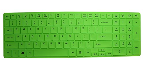Silicone Keyboard Protector Skin Cover For Acer Aspire 5251, 5253, 5250, 5336, 5349, 5560, 5560G, 5552, 5552G, 5741, 5742, 5742Z, 5745, 5745G, 5740, 5750, 5750G, 5750Z, 5733, 5733Z, 5736Z, 5749, 5749Z, 5738Dg, 5738Pg, 5810, 5810T, 5820, 5820Tg, 7739, 7739
