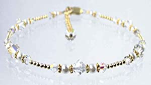 Damali 14k Gold Diamond Anklet