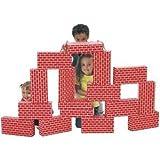 Smart Monkey ImagiBricks Set of 36 Red Giant Image Briks Blocks