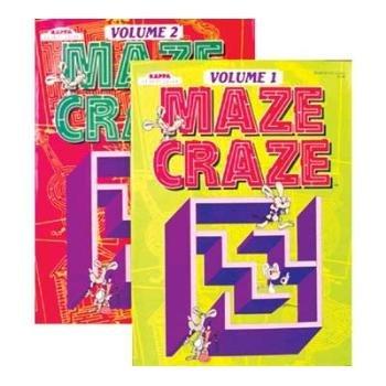 KAPPA MAZE CRAZE Puzzle Book - 1
