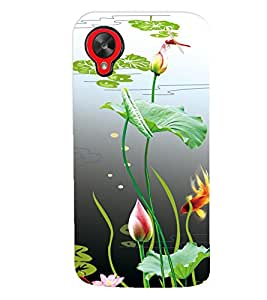 GADGET LOOKS PRINTED BACK COVER FOR LG Google Nexus 5 MULTICOLOR
