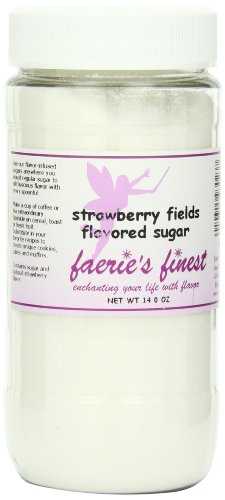 Faeries Finest Sugar, Strawberry Fields, 14.0 Ounce