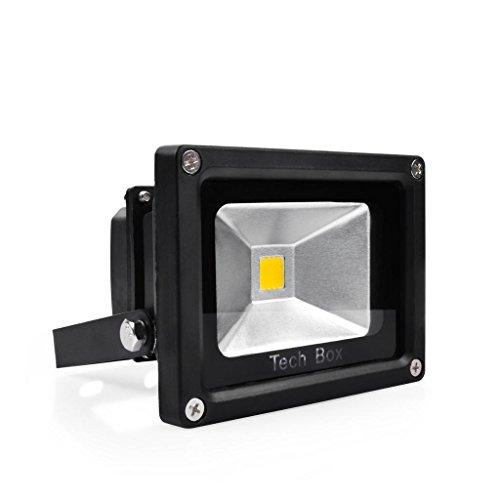 1 Pc 10W Warm White Ip65 Floodlight High Power Led Flood Wash Light Outdoor Lamp 12V
