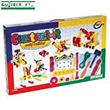 Guidecraft G16802 Construct-It Early Builder Series 160 Piece Building Set