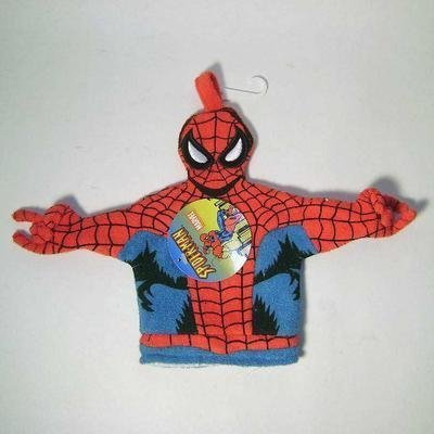 Spiderman Terry Cloth Bath Wash Mit / Puppet - 1