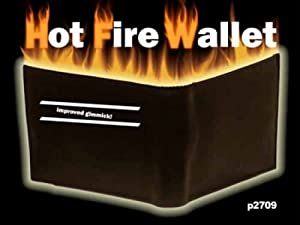 Hot Fire Wallet - Magic Trick