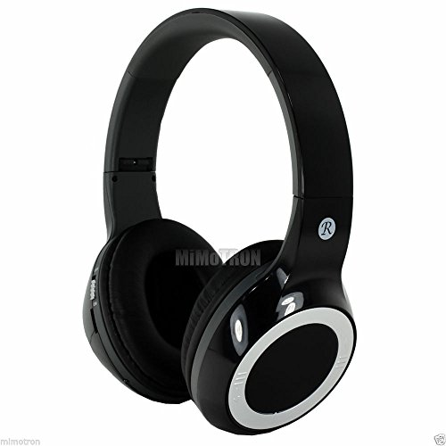 Max-Micro Bluetooth Wireless V.2.1 Stereo Over The Ear (Ear Cup) Headphone W/ Fm Radio & Card Reader For Iphone, Ipad, Ipad Mini, Ipod And Ipod Touch (Black Color)
