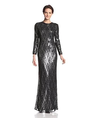 A.B.S. by Allen Schwartz Women's Covered Sequin Gown