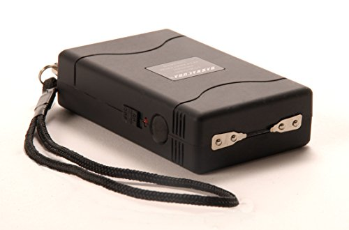 Barracuda Piranha 3 CR2 Battery Operated Stun Gun with Safety/Disable Pin 1 Million Volts (Barracuda Stun Gun compare prices)