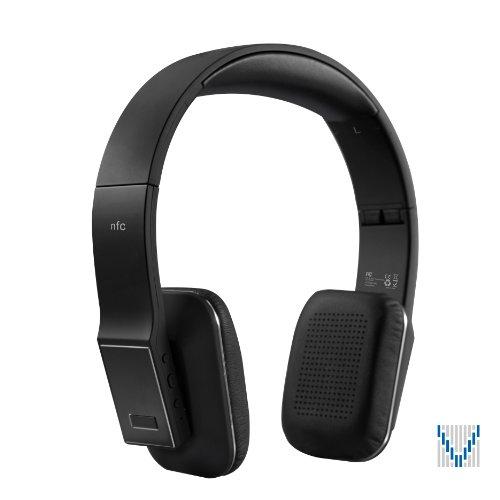 VOXOA® HD Wireless Stereo Headphones (Black) Bluetooth 4.0, aptX, AAC, NFC, HD audio VOXOA Bluetooth Headsets autotags B00EAYZ264
