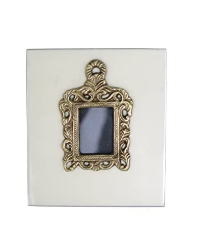 Blue Ocean Traders Victorian Photo Frame, Gold