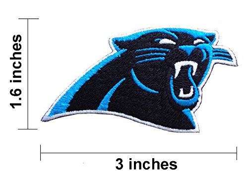 Buy Carolina Panthers Logo NFL Team Embroidered Iron On Patch.