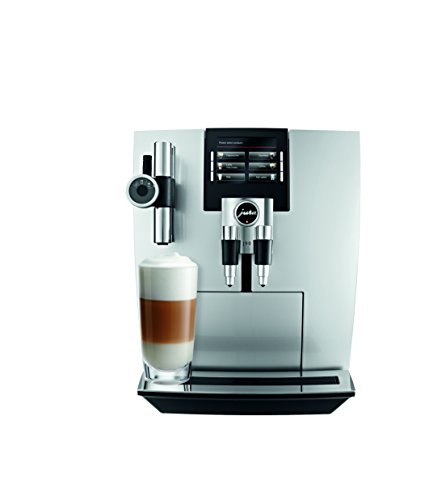 Jura J90 Automatic Coffee Machine, Brilliant Silver