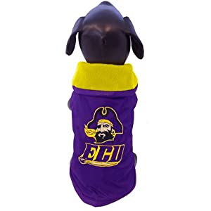 NCAA East Carolina Pirates All Weather-Resistant Protective Dog Outerwear by All Star Dogs