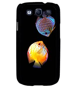 printtech Colored Fish Back Case Cover for Samsung Galaxy S3 Neo::Samsung Galaxy S3 Neo i9300i
