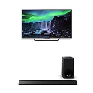 Sony XBR65X810C 65-Inch 4K Ultra HD TV with HTCT780 Soundbar by Sony