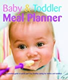 Baby and Toddler Meal Planner Kim Davies