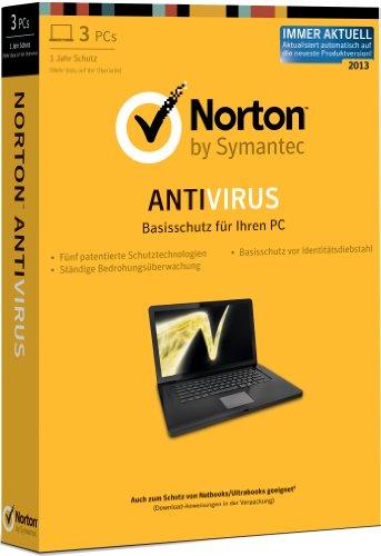 Norton Antivirus 2013 3 PCs